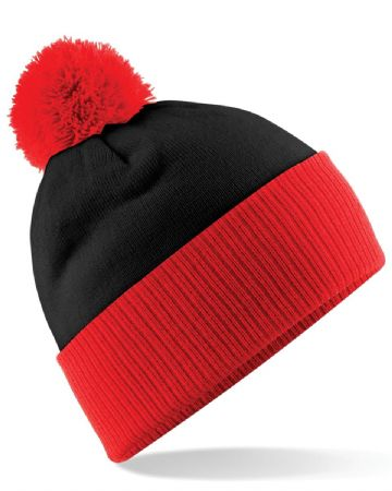 CAITHNESS LADIES FC ADULT BEANIE WITH EMBROIDERED LOGO